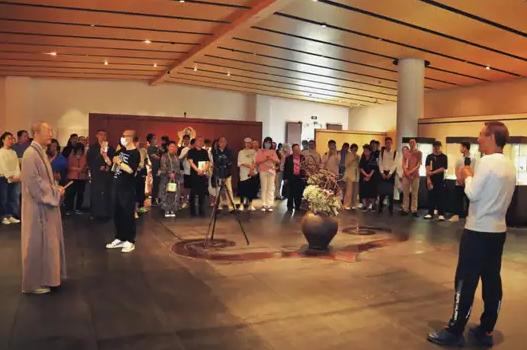 起心作意――邹涛佛肖印暨写经展在净慈寺美术馆开展