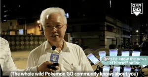 70岁老人带着11部手机玩《PMGO》只为预防老年痴呆