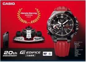 卡西欧发布本田赛车联名表款,纪念EDIFICE诞生20周年