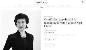 人事丨康泰纳仕任命中国总经理;Calvin Klein的母公司PVH任命新C