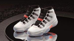 Air Jordan 35 周年之际,推出首款自动系鞋带球鞋 Air Jordan XI Adapt